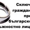 Сключване на граждански брак пред българско консулско длъжностно лице в чужбина