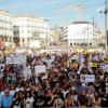 Хиляди хора излязоха по улиците на Мадрид, за да протестират срещу малтретирането на животни в зрелищни спектакли