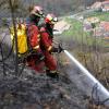 Гигантски пожар по испанското крайбрежие наложи евакуирането на 1400 души