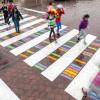 Цветните пешеходни пътеки на Христо Гелов се превърнаха в сензация
