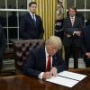 Тръмп подписа указа за излизане на САЩ от Транстихоокеанското партньорство