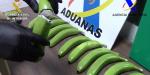Испанската полиция залови 17-килограма кокаин във фалшиви банани (видео)