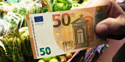 Кирилицата вече и върху 50-те евро