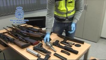 Полицейски удар срещу мафията в Испания (видео)