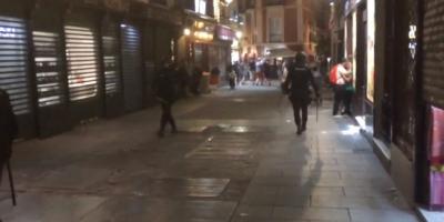 Фенове на Лестър бити от испанската полиция без причина