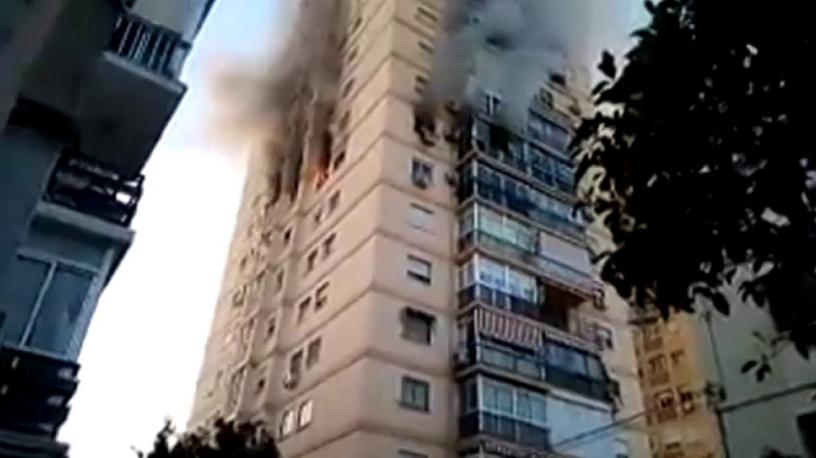 Възрастен мъж почина при пожар в дома си в Малага