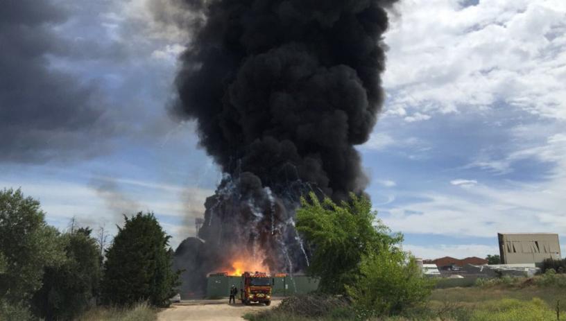 Мощна експлозия разтърси мадридския квартал Арганда дел Рей, има ранени