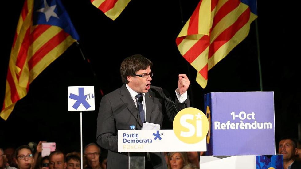 Каталуния е буре с барут, готово да избухне. Испания е пред прага на гражданска война
