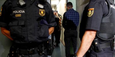 Полицищта в Мадрид