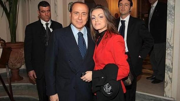 Силвио Берлускони и Франческа Паскале
