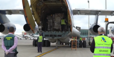 Руски самолет с над 17 тона медицинско оборудване кацна в Майорка