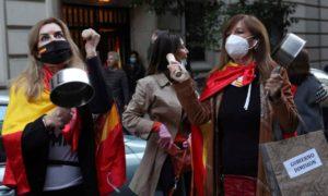 Протести в Мадрид срещу новите рестриктивни мерки
