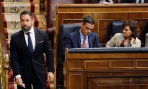 Педро Санчес изправен пред вот на недоверие