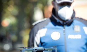 Дронове ще следят да няма струпвания на хора в Мадрид