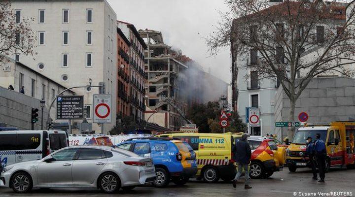 Най-малко 2 души са загинали при експлозия в жилищна сграда в Мадрид