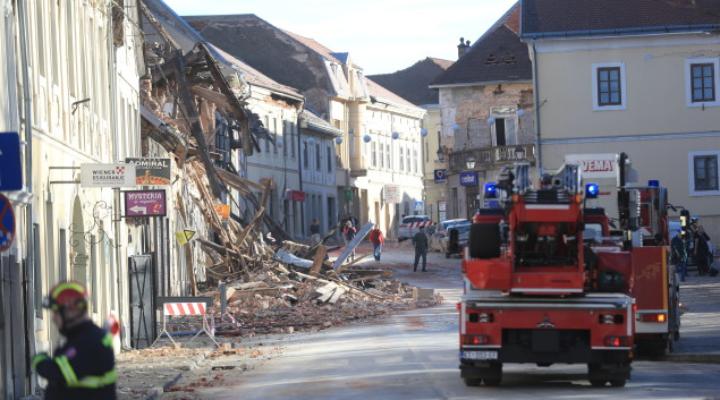 Ново земетресение в Хърватия