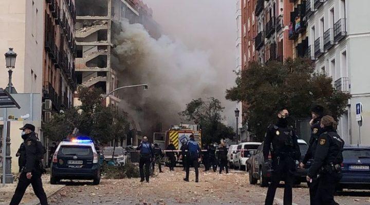 Силна експлозия разтърси  Мадрид