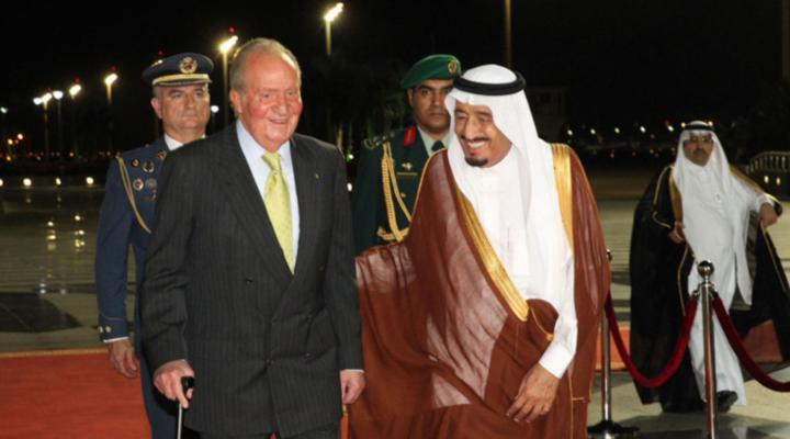 Хуан Карлос се намира в Абу Даби