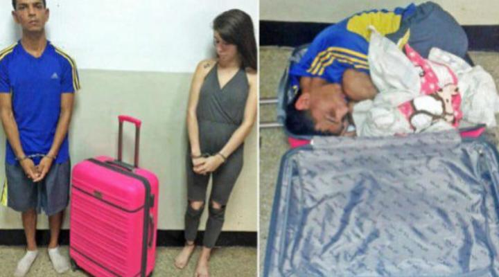 Жена се опита да измъкне мъжа си от затвора в куфар, защото ѝ станало скучно