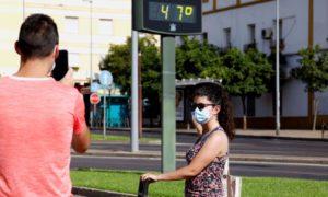 Испания я чакат опасни жеги