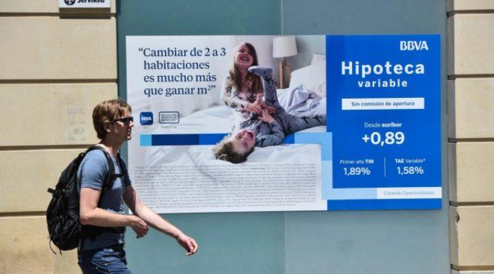 Ръст на жилищните кредити в Испания